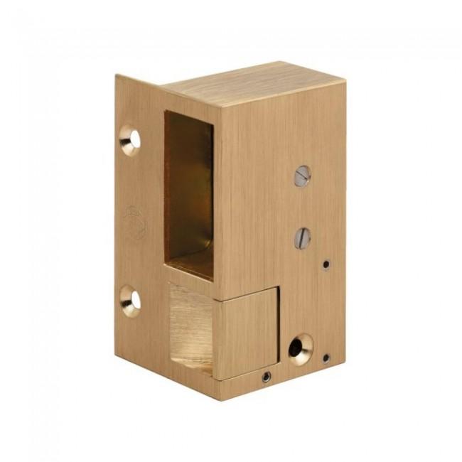 Gâche électrique en applique - à émission – bronze – 1 MÉTALUX