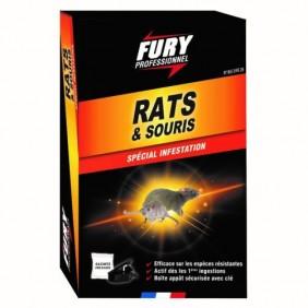 Souricide en granulés - rats & souris - Fury Fury