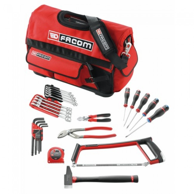 Composition 29 outils boite textile CM.FC29PB FACOM