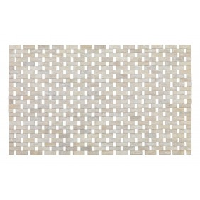 Tapis de bain - Antidérapant - Bambou - 50 x 80 cm WENKO