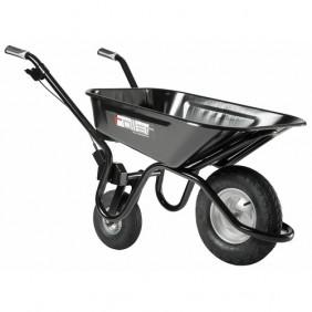 Brouette ergonomique - 100 litres - roues gonflées - Roller HAEMMERLIN