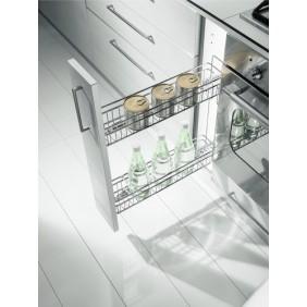 Paniers extractibles 2 niveaux - Gold 1104 - 25 Kg INOXA