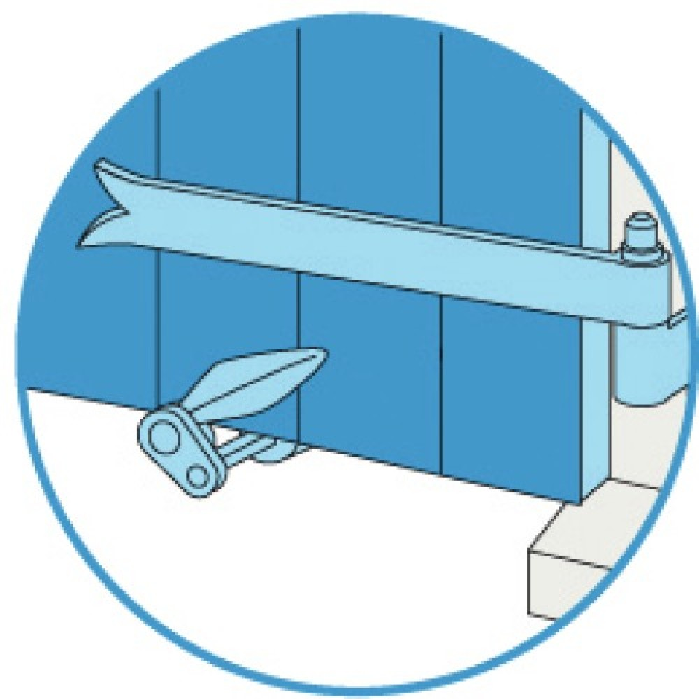 arr t de volet composite pour volets alu et pvc torbel. Black Bedroom Furniture Sets. Home Design Ideas