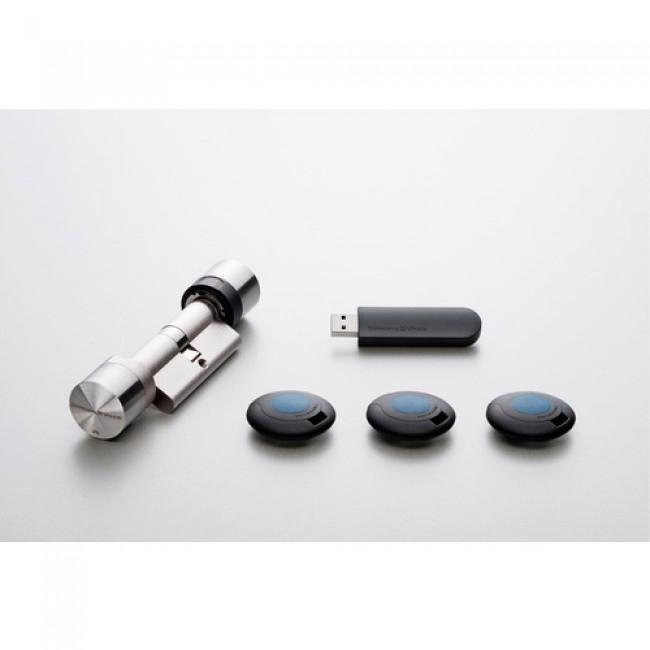 Cylindre électronique - gestion via application WEB - MobileKey SIMONS VOSS