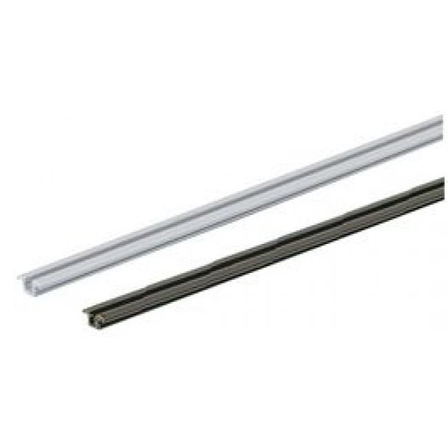 Rail de porte coulissante aluminium pour SlideLine 55+ HETTICH