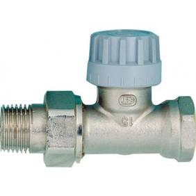 Corps de robinet droit nickelé Senso - filetage 15x21 COMAP