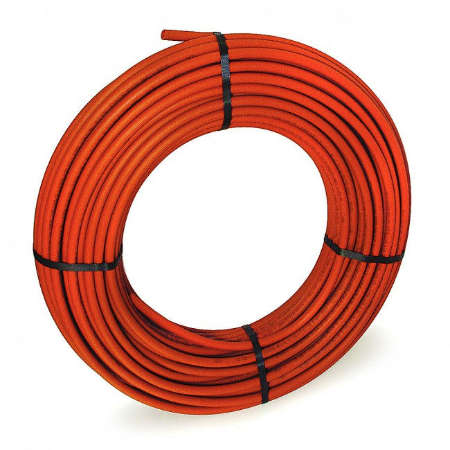 Tube PER - barrière anti-oxygène - couronne - nu - rouge - BetaPEX BAO COMAP