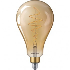 Ampoule LED - 6,5W - E27 - A160 - ambrée - Giant PHILIPS (SIGNIFY FRANCE)