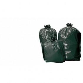 Sacs poubelles noir 110 litres, par 25 sacs BRICOZOR