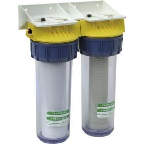 Filtre anti-calcaire et anti-corrosion -  sans bypass - FD34C POLAR