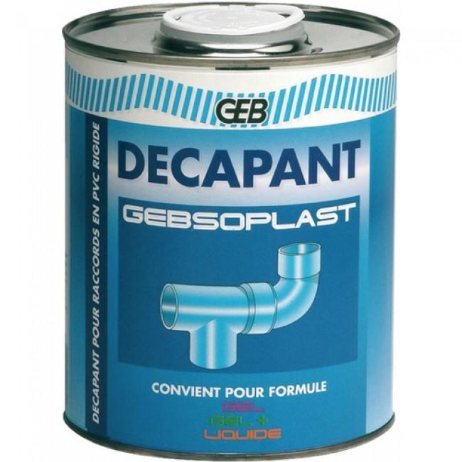 Décapant PVC - nettoyage avant collage - pour PVC rigide - Gebsoplast GEB