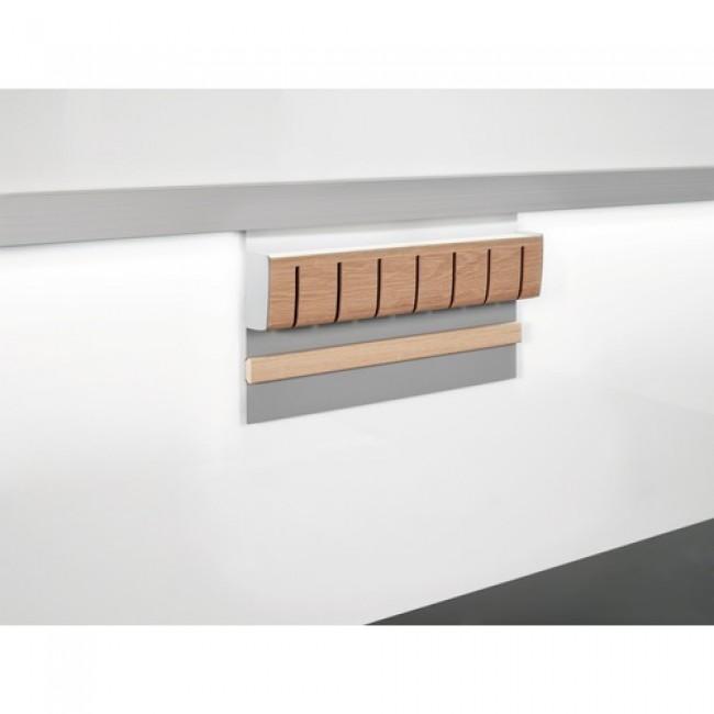 bloc couteaux magn tique pour barre de cr dence kesseb hmer bricozor. Black Bedroom Furniture Sets. Home Design Ideas
