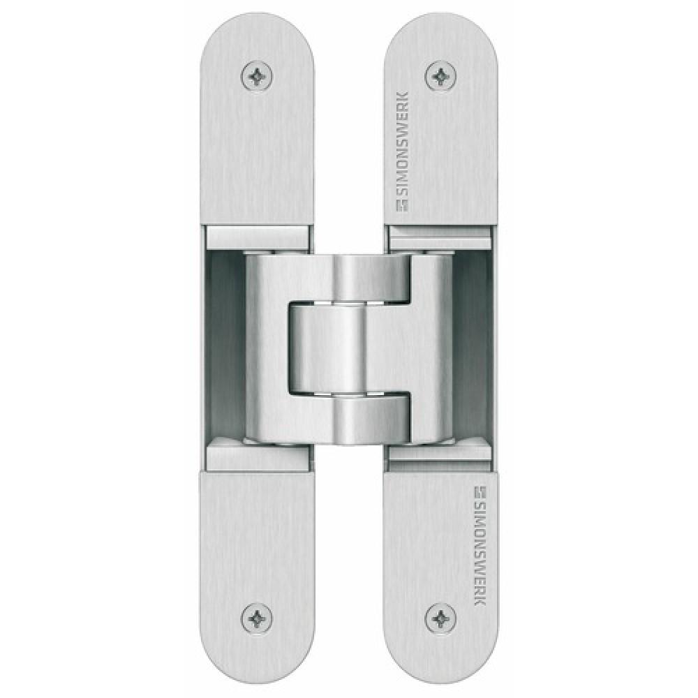 paumelles invisibles tectus 3d pour portes lourdes simonswerk bricozor. Black Bedroom Furniture Sets. Home Design Ideas