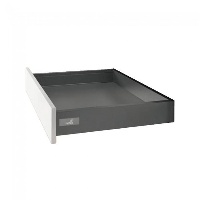 Kit tiroir simple InnoTech Atira - hauteur 70mm - Silent System 30 kg HETTICH