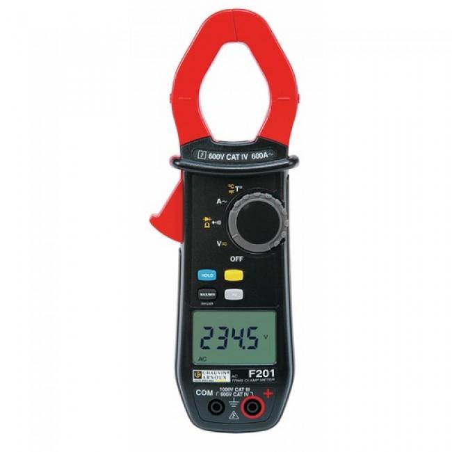 Pince multimètre - F201 CHAUVIN ARNOUX