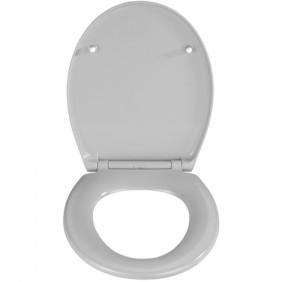 Abattant WC - Thermodur - Fixation Fix-clip - Easy-close - Gris béton WENKO