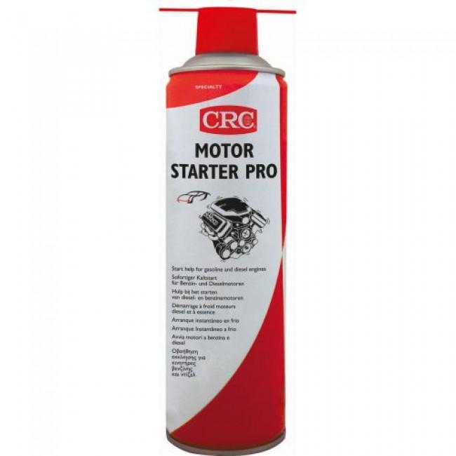Liquide de démarrage moteur - qualité professionnelle - aérosol 650 ml CRC