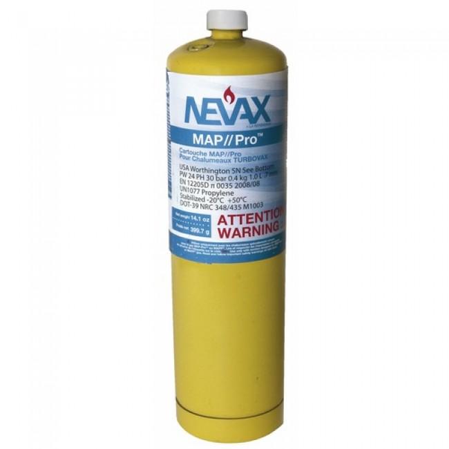 Cartouche de gaz MAPP® - pour chalumeau Turbo-Vax Extreme NEVAX
