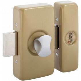 Verrou en applique - à bouton et cylindre - Universalis VACHETTE