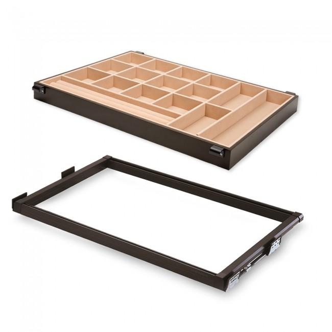 Kit tiroir organisateur pour armoire - Moka EMUCA
