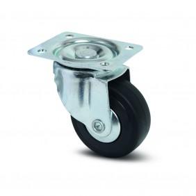 Roulette pivotante polypro pour chariot d'atelier/garage - Compacta TENTE