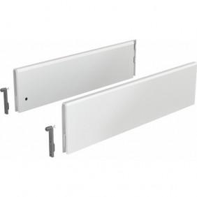 Parois latérales TopSide pour tiroir ArciTech-hauteur 124 mm-blanc HETTICH