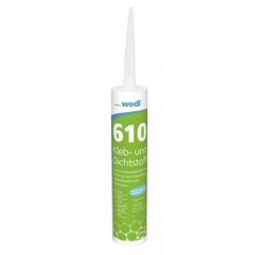 Mastic-colle polymère - pour receveur et panneaux - Wedi 610 Wedi