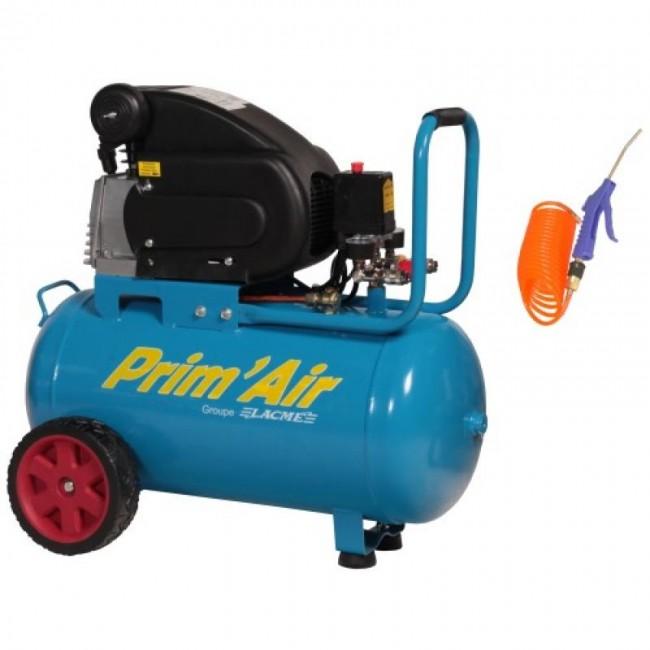 Compresseur d'air - 50 litres - 1750 W - Prim'Air MM13/50 Lacmé