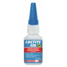 Colle instantanée cyanoacrylate - multi-usages - Loctite 406 LOCTITE