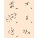 Système porte coulissante Clipo 16H Inslide/Mixslide-vantail 16 kg EKU