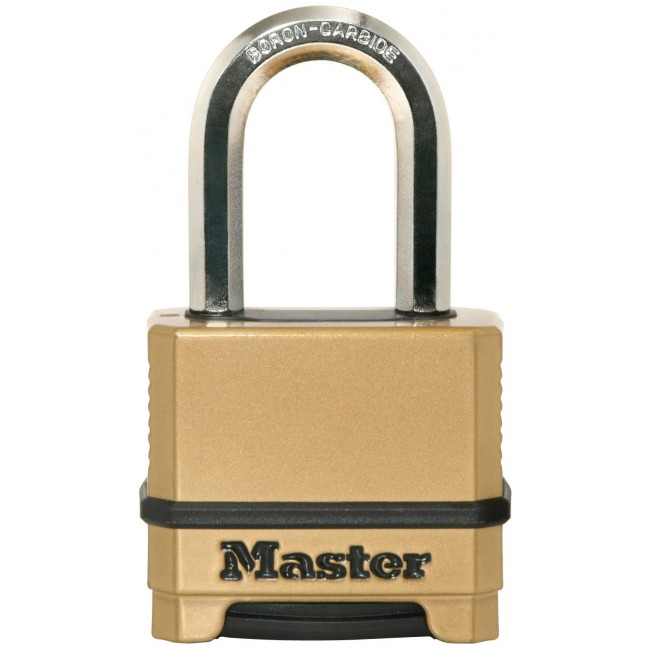 Cadenas à combinaison - en zinc - largeur 56 mm - anse 38 mm MASTER LOCK
