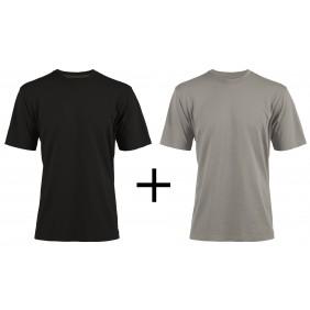 Pack 2 t-shirts de travail noir et gris Racing - XXL NORTH WAYS