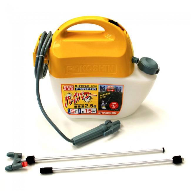 Pulvérisateur automatique à batterie 5L 2 buses GT-5H KOSHIN