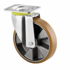 Roulette pivotante - sur platine - pour charges lourdes - type 4680 TENTE