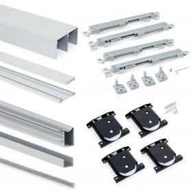 Système pour porte coulissante de meuble-30 kg-Wave EMUCA