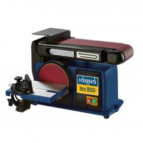 Ponceuse combinée BTS 800 à bande et disque 150 mm 4903302901 SCHEPPACH