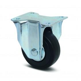 Roulette fixe polypro pour chariot d'atelier/garage - Compacta TENTE