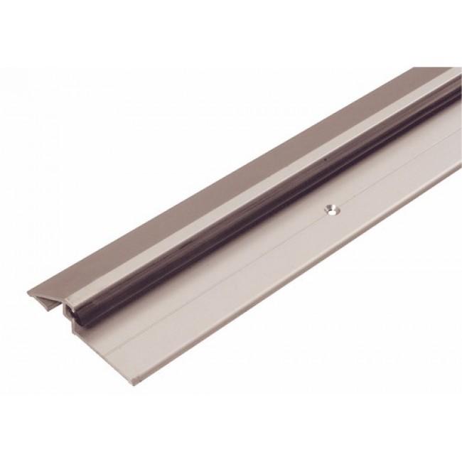 Seuil aluminium 4113 complet, pour garage ou porte d'entrée, 90 cm, avec joint