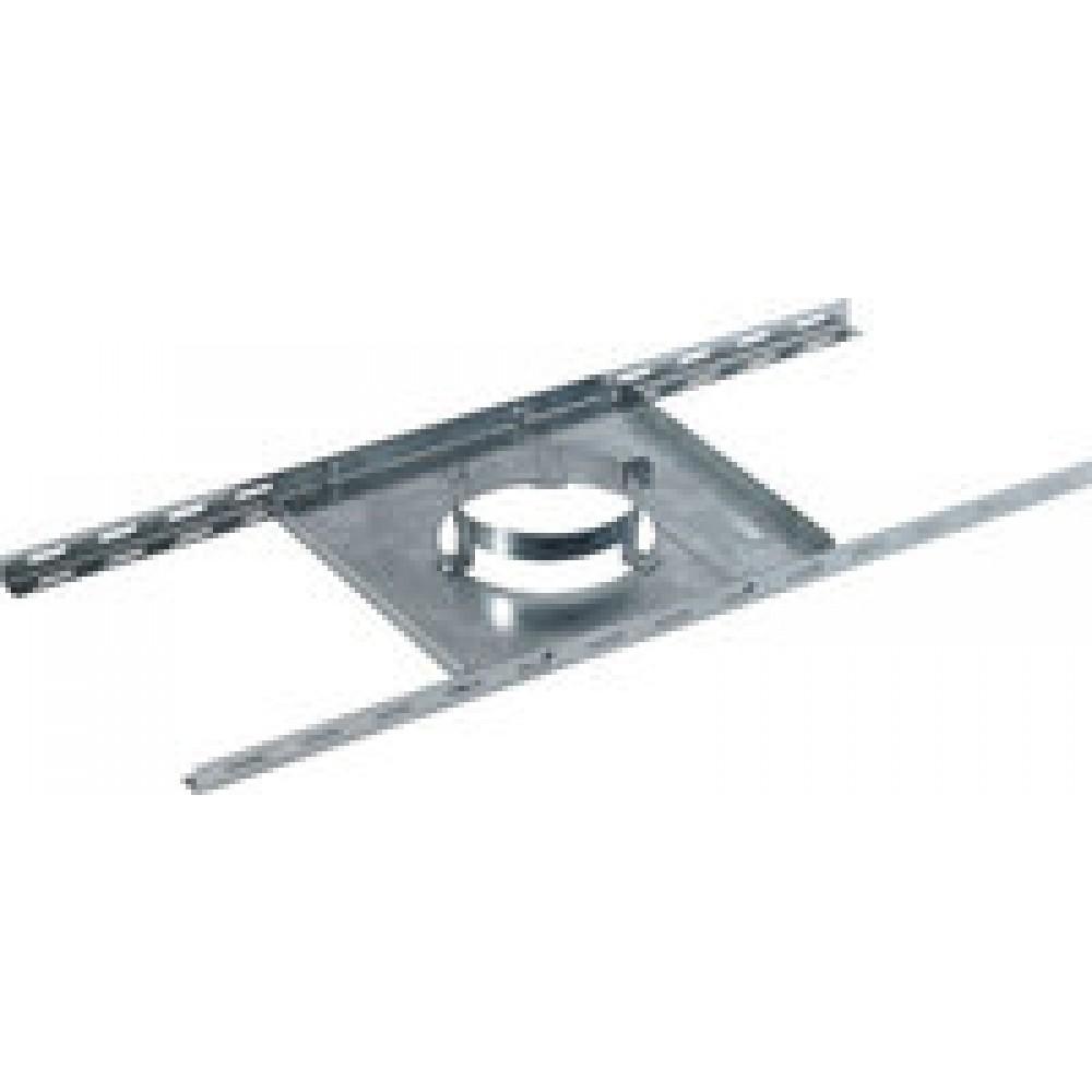 support plancher en galva pour tubage double paroi ten bricozor. Black Bedroom Furniture Sets. Home Design Ideas