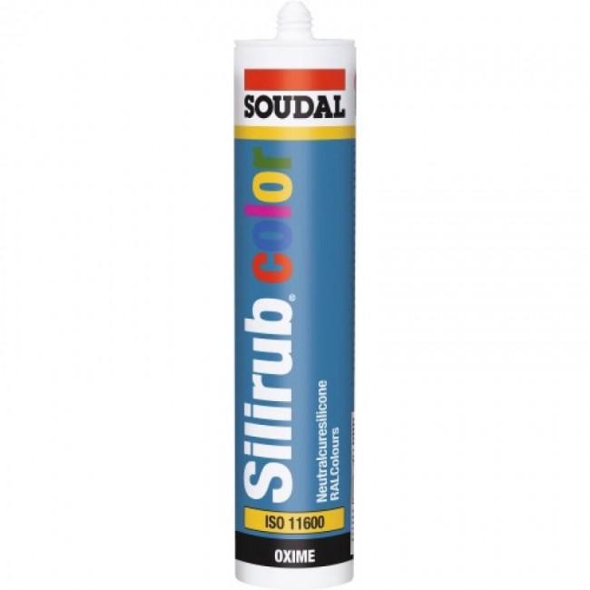 Mastic silicone neutre - menuiserie - multi-coloris - Silirub Color SOUDAL