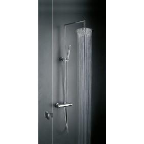 Colonne de douche thermostatique avec douche de tête ronde LINEA+ SARODIS
