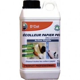 Décolleur de papier peint - surpuissant - 1 litre - D'COL DALEP
