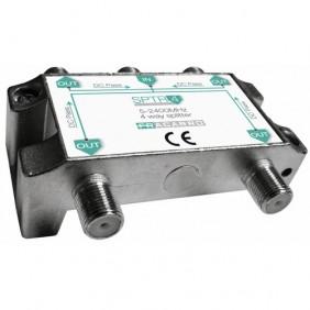 Répartiteur TV - ULB 5-2400MHz - connectique F FRACARRO