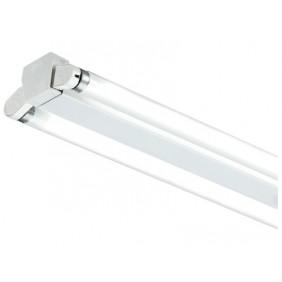 Réglette pour deux tubes fluorescents T8 - ballast électronique SYLVANIA