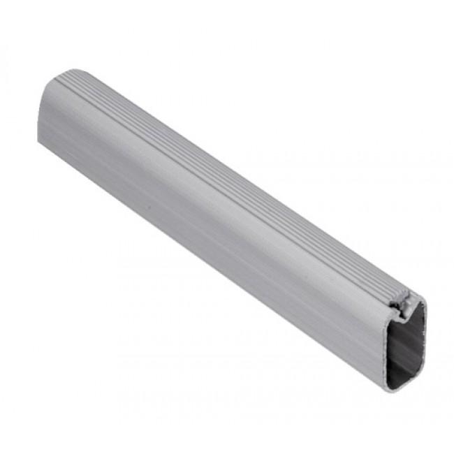 Tube aluminium pour tubes de penderie 30 x 15 - Silk EMUCA