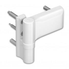 Paumelle - pour porte PVC de 80 à 120 kg - KT-EV HAHN