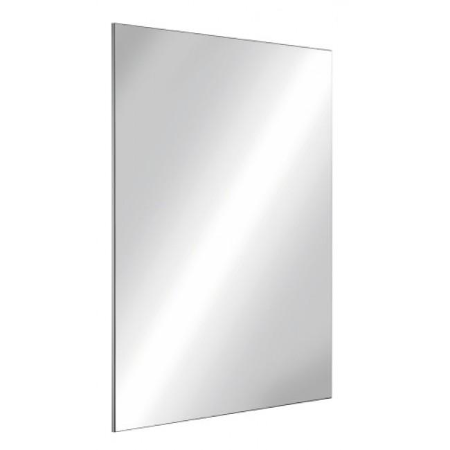 Miroir rectangle - Inox -  incassable - à fixations invisibles DELABIE