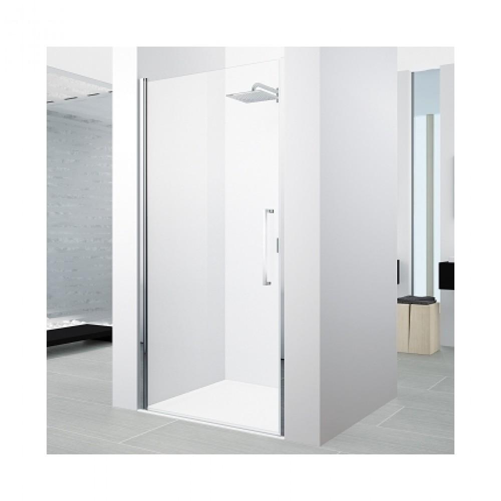 Paroi de douche pivotante verre transparent young 2 0 - Pose porte douche verre ...