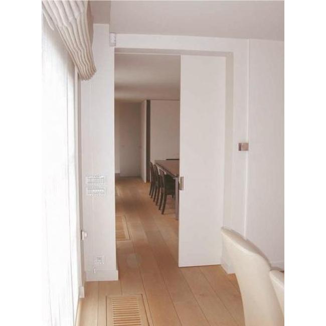 Cache rail plafond pour porte coulissante expert 40 80 for Porte coulissante fixation plafond