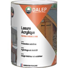 Lasure acrylique - protection extrême - séchage 2 heures DALEP